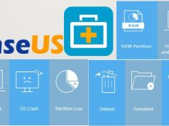 Now recovering data is accessible with EaseUS