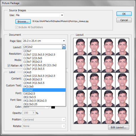 How To Print Passport Size Photos At Home Using Photo Paper Techovity