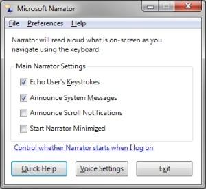 MicrosoftNarrator