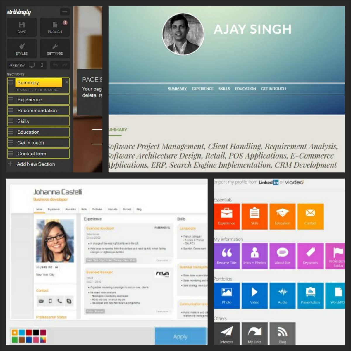 Create Resume Instantly From Your LinkedIn Profile