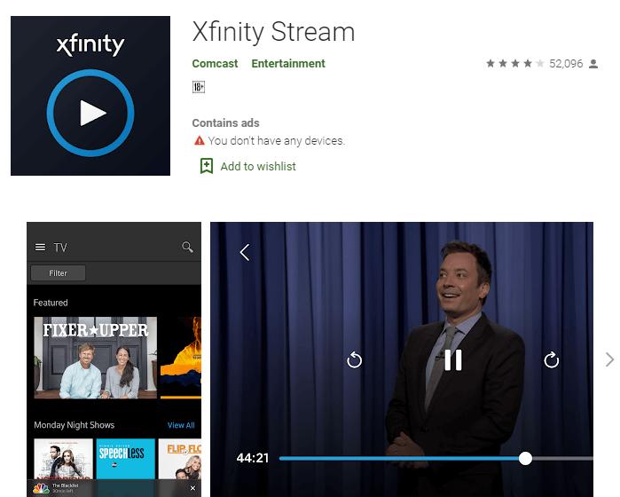 Download Xfinity Stream