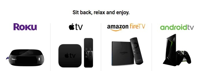 FuboTV Supported Devices