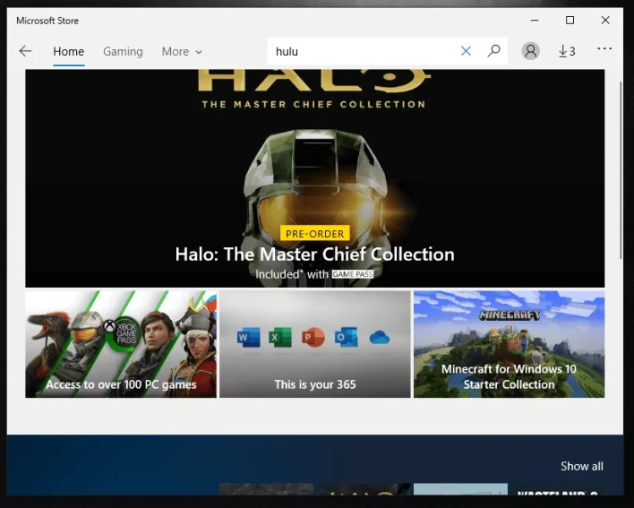 search for Hulu