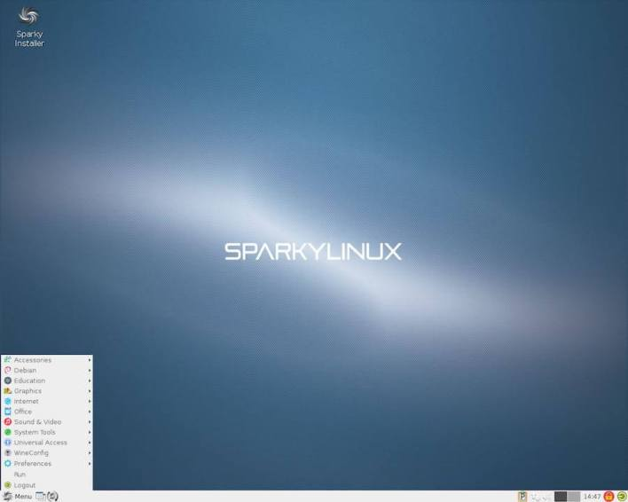 SparkyLinux - GameOver Edition