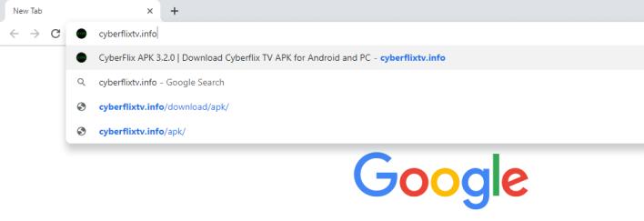 Cyberflix TV URL
