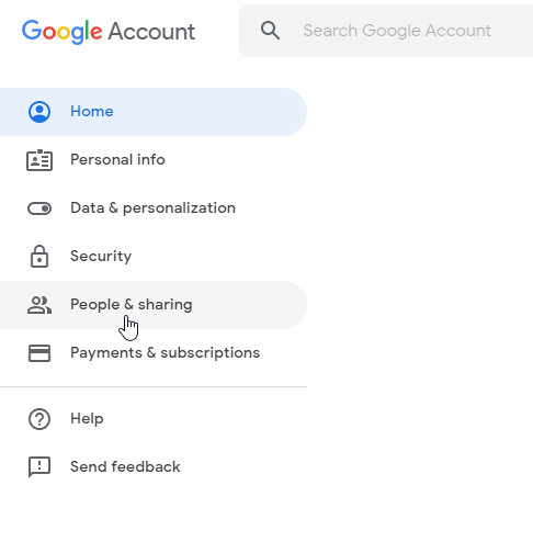 Upload the Contacts to Gmail