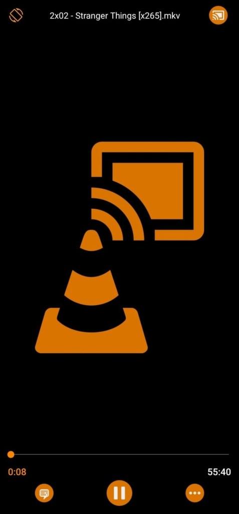VLC to Chromecast