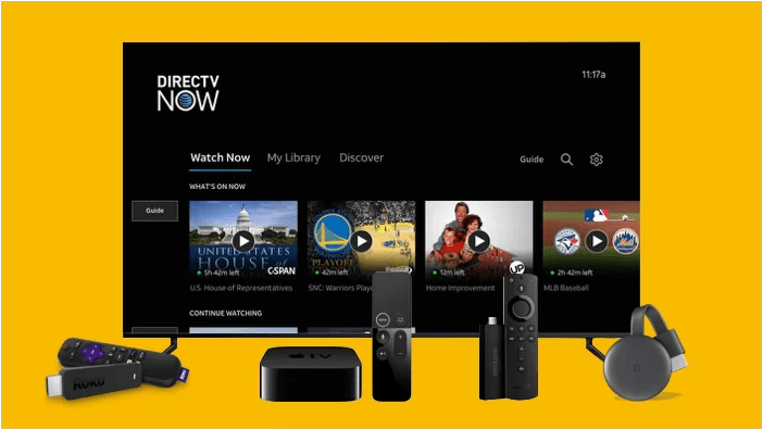 AT&T TV NOW Supported Devices