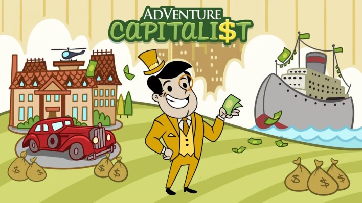 AdVenture Capitalist - Best Games for Linux