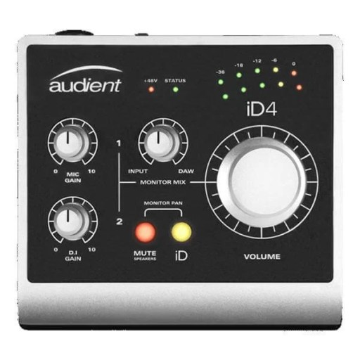 Audient iD4 - Best Audio Interface for Mac