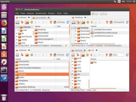 SpaceFM - Best File Manager for Ubuntu