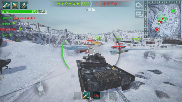 Tank Force - Best Games for Linux