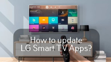 Update apps on LG Smart TV