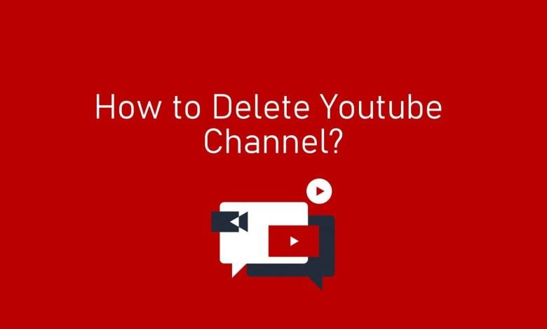Delete YouTube Channel