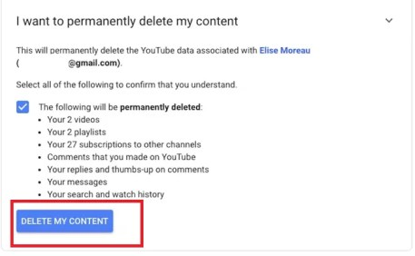 How to Delete YouTube Channel