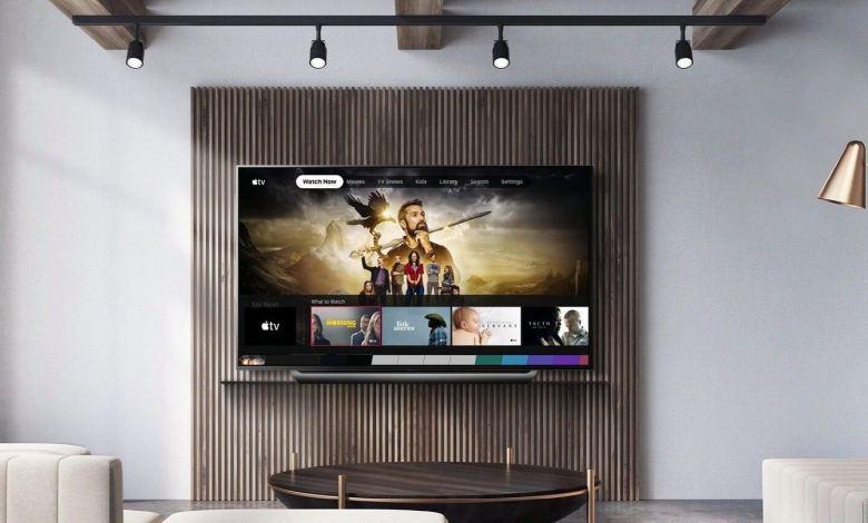 LG TV with Apple TV App