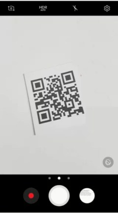 Scan QR codes on Android