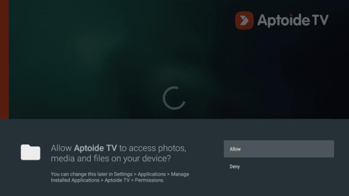 Aptoide TV on Fire TV