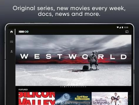 Cast icon on Hbo Go