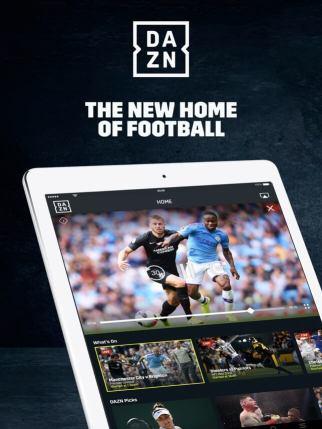 DAZN on Apple TV