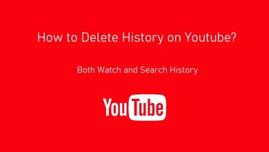 How to delete History on Youtube