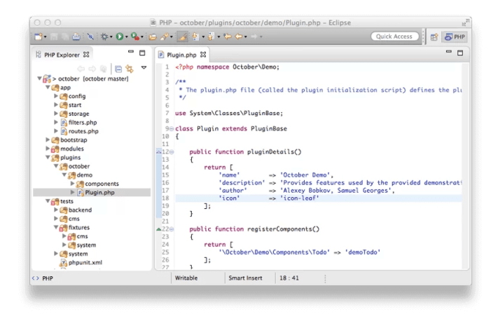 Eclipse - Best HTML Editors for Mac