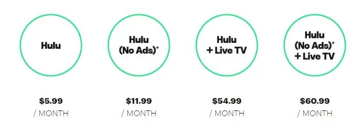 Hulu Premium Packages