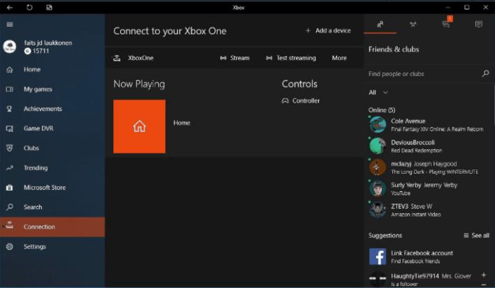 Stream Xbox One to PC