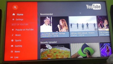 youtube on mi box
