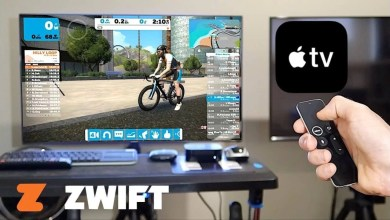 zwift on apple tv