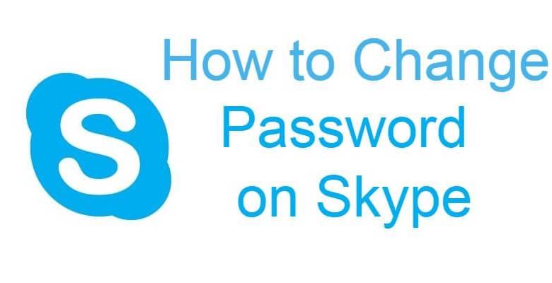 Change Skype Password
