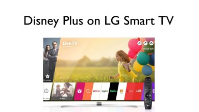 Disney Plus on LG Smart TV