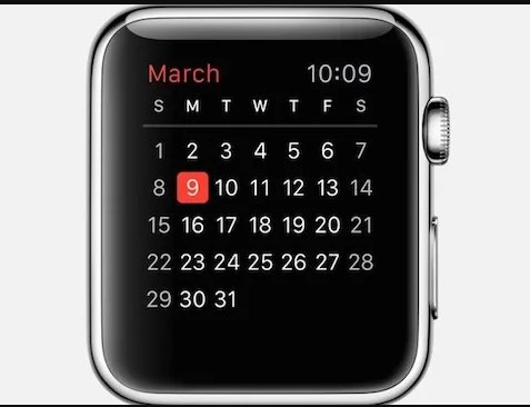 Google Calendar on Apple Watch