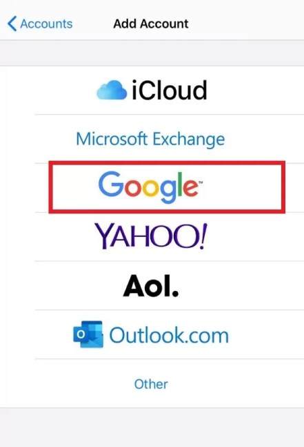 Tap Google