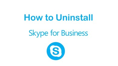 Photo of How to Uninstall Skype for Business and Skype app