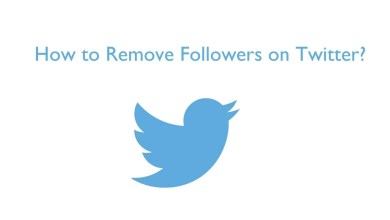 Remove followers on Twitter