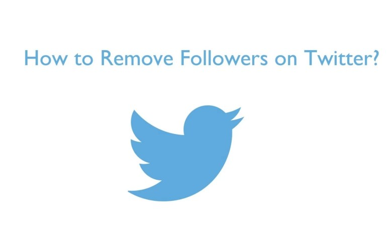 Remove followers on Twitter