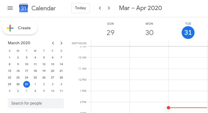 Schedule Meetings on Hangouts Meet
