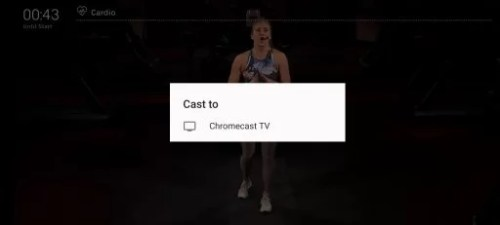 Select Chromecast TV