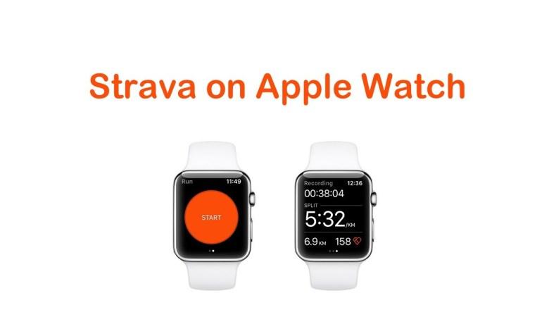 Strava on Apple Watch