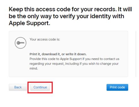 Delete iCloud Account