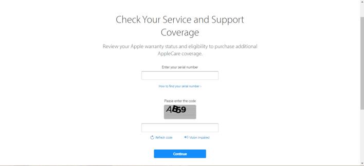 Apple Check Coverage