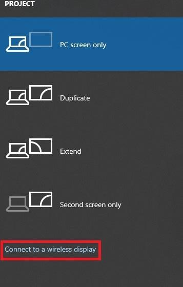 Mirror Windows Screen on Sony TV