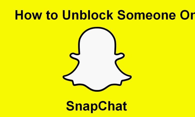 Unblock Someone on Snapchat