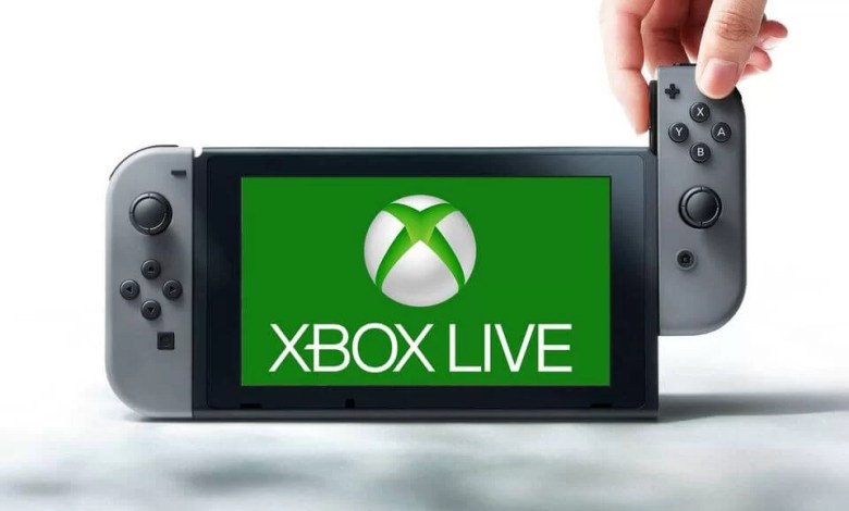 Xbox Live on Nintendo Switch