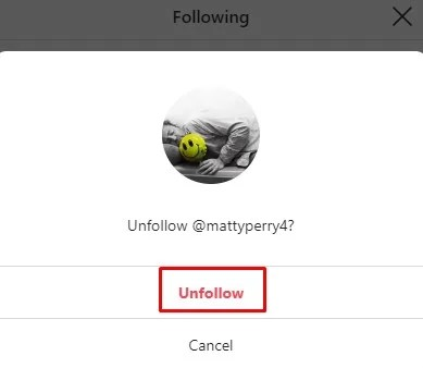 How to Unfollow Someone on Instagram