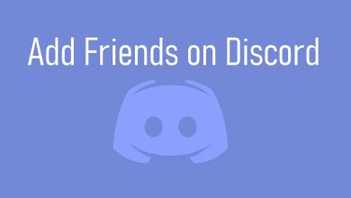 Add Friends on Discord