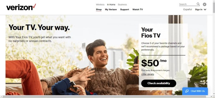 Cancel Verizon Fios