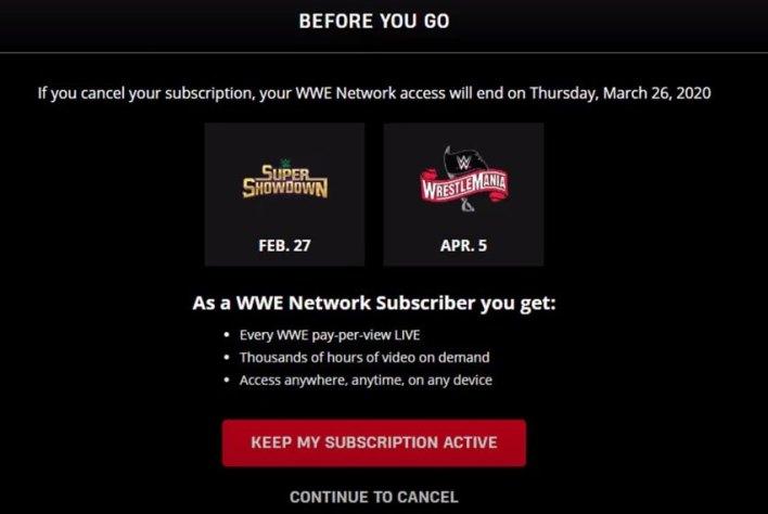 Cancel on Web