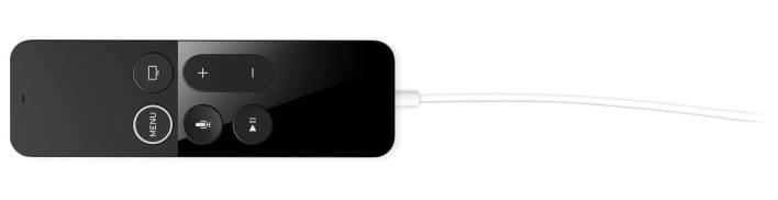 Charge Siri remote